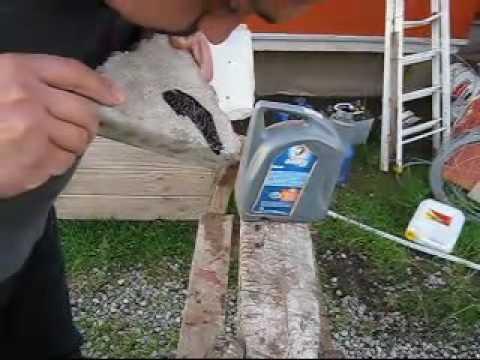 Pintar Madera Con Aceite Quemado.Pastelon Con Aceite Quemado Mp4 Youtube