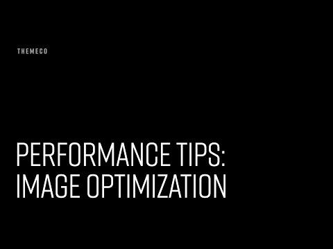 Performance Tips: Image Optimization