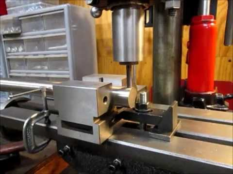 using a drill press as a milling machine