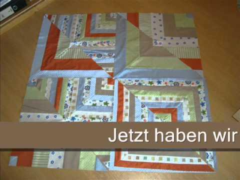 patchworkdecke quilt aus stoffresten n hen teil 1 von 3. Black Bedroom Furniture Sets. Home Design Ideas