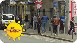 Drogenkrieg auf offener Straße: Dortmunds Nordstadt   SAT.1 Frühstücksfernsehen   TV