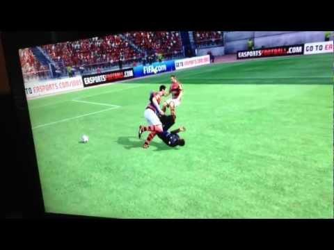 John O'Shea Glasgow kisses Mario Balotelli