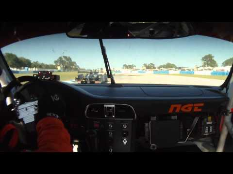 ALMS Sebring 12 Hour Highlights - #30 NGT Porsche ...