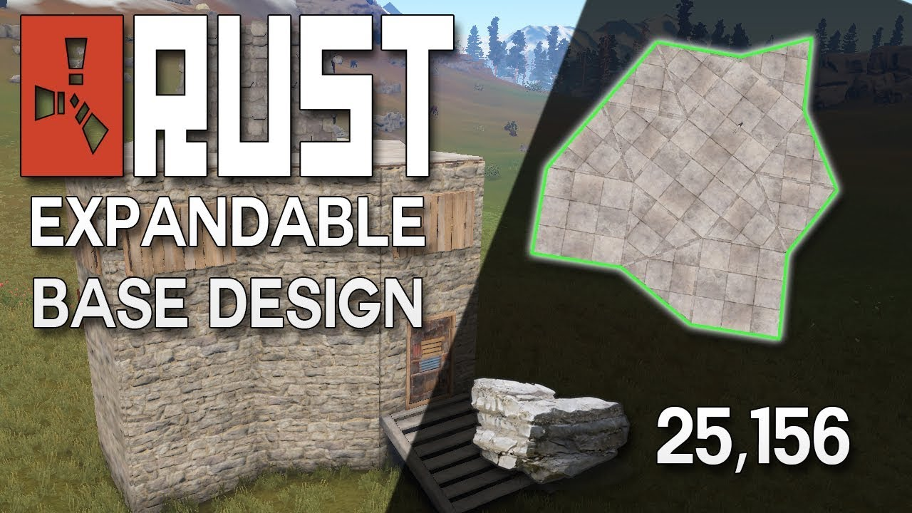 Rust expandable duo or trio base design rust base building rust expandable duo or trio base design rust base building 25000 stone malvernweather Choice Image