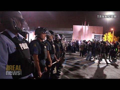 Thousands descend on St. Louis for Ferguson October