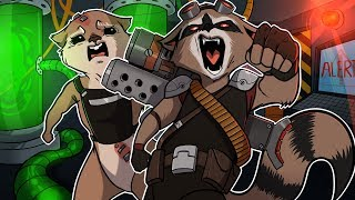Guardians of the Galaxy: The Telltale Series (ROCKET RACCOON'S PAST!) Episode 2 Part 1