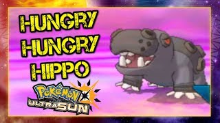 Pokemon Ultra Sun and Moon VGC 2019 Sun Series Battle - Hungry Hungry Hippo