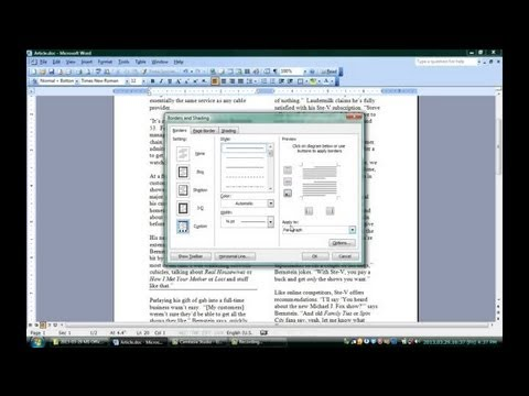How to Make a Divider on Microsoft Word  Microsoft Office Software