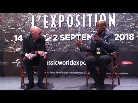 Jurassic World Exposition - Itw Welby Altidor
