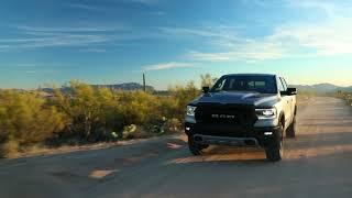 2019 Ram 1500 Rebel Off-Road Running Footage (1080p/30fps)