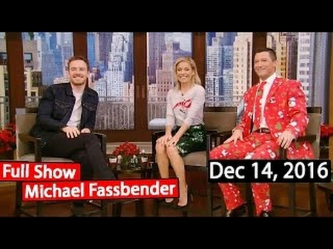 Live with Kelly (Dec 14, 2016) | Michael Fassbender, Gavin D