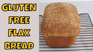 Gluten Free Flax Bread With Sesame Seeds ~ Sandwich Bread