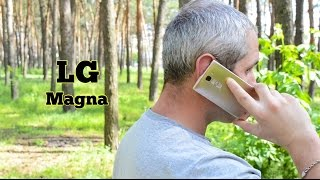 LG Magna (H502F) Обзор телефона, звук, игры, тесты камер.