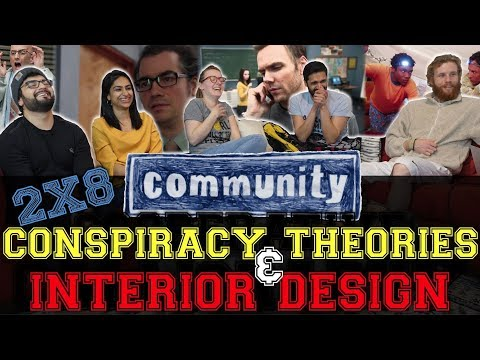 Community - 2x9 Conspiracy Theories and Interior Design - Group Reaction
