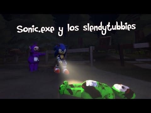 [GMOD] Sonic.exe y los slendytubbies Ep1