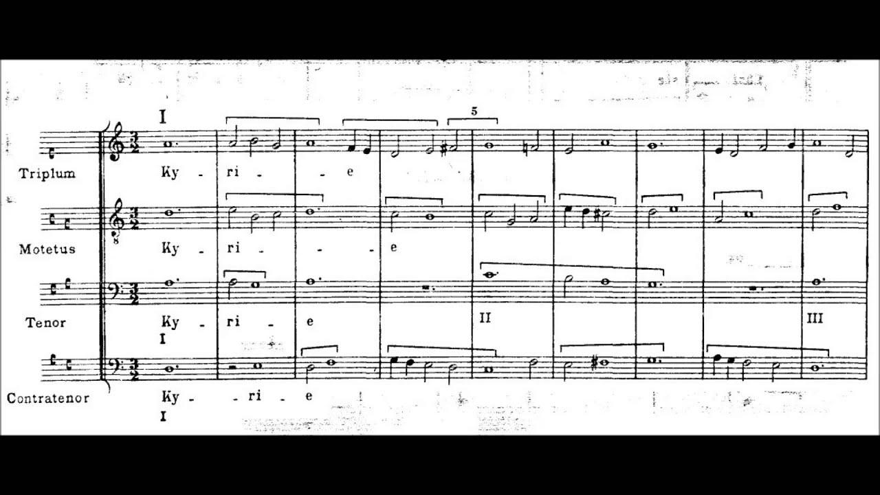Machaut - Messe de Notre Dame (Ensemble Organum)