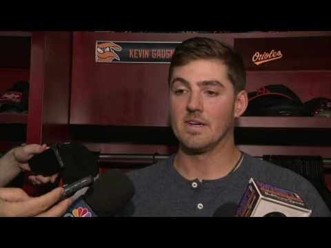 Kevin Gausman on solid start against the Yankees