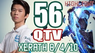 QTV - XERATH vs JAYCE - Kim Cương Việt #56 - Highlight