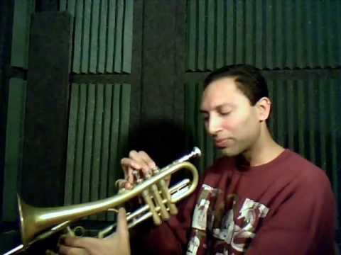 Introduction to the Firebird trumpet with Indofunk Satish - part 3