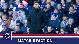 REACTION | Steven Gerrard | Rangers 4-0 St Mirren