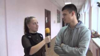 Интервью у студентов-поваров!