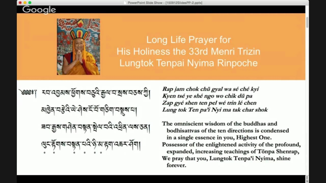 Download Nourishing Your Inner Being—Long Life for His Holiness
