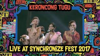 Keroncong Tugu live at SynchronizeFest - 6 Oktober 2017