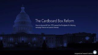 The Cardboard Box Reform - Nixon's Ghost Bill & A Crucial Flaw in Democracy