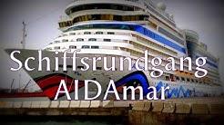 AIDAmar Schiffsrundgang | Ships tour | Grosse Schiffsbesichtigung 2012