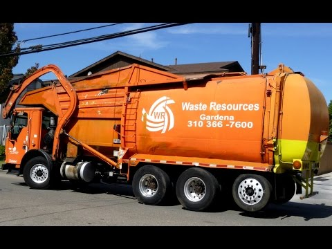 Waste Resources Garbage Trucks - Gardena, CA