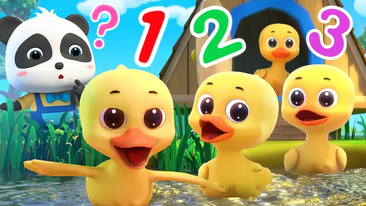 あひるは何匹?かぞえてみよう | 赤ちゃんが喜ぶ歌 | 子供の歌 | 童謡 | アニメ | 動画 | ベビーバス| BabyBus