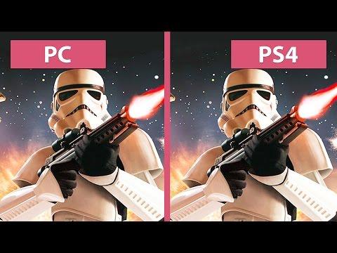 Star Wars: Battlefront – PC Ultra vs. PS4 Graphics Comparison (Beta) [FullHD][60fps]