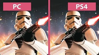 Star Wars Battlefront PC Ultra vs. PS4 Graphics Comparison Beta FullHD 60fps