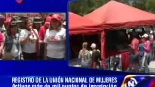Yelitze Santaella, registro de Unamujer en Monagas