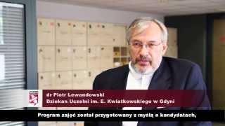 Uczelnia im. E. Kwiatkowskiego w Gdyni prowadzi studia biznesowe w języku angielskim.