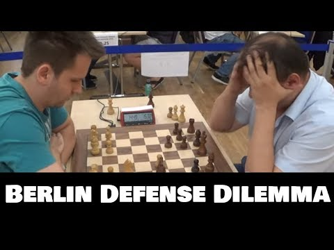 Berlin Endgame Classic: Two Bishops Or Passed Pawn?