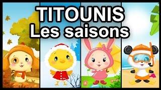 Dessin animé - Titounis - Les saisons