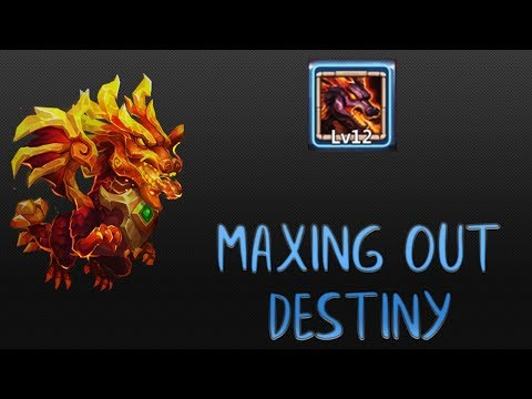 MAXING OUT Lavanica's Destiny | CASTLE CLASH