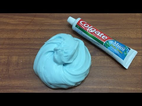 DIY Toothpaste Fluffy Slime!! No Shaving Cream, No Glue, No Borax! MUST WATCH!