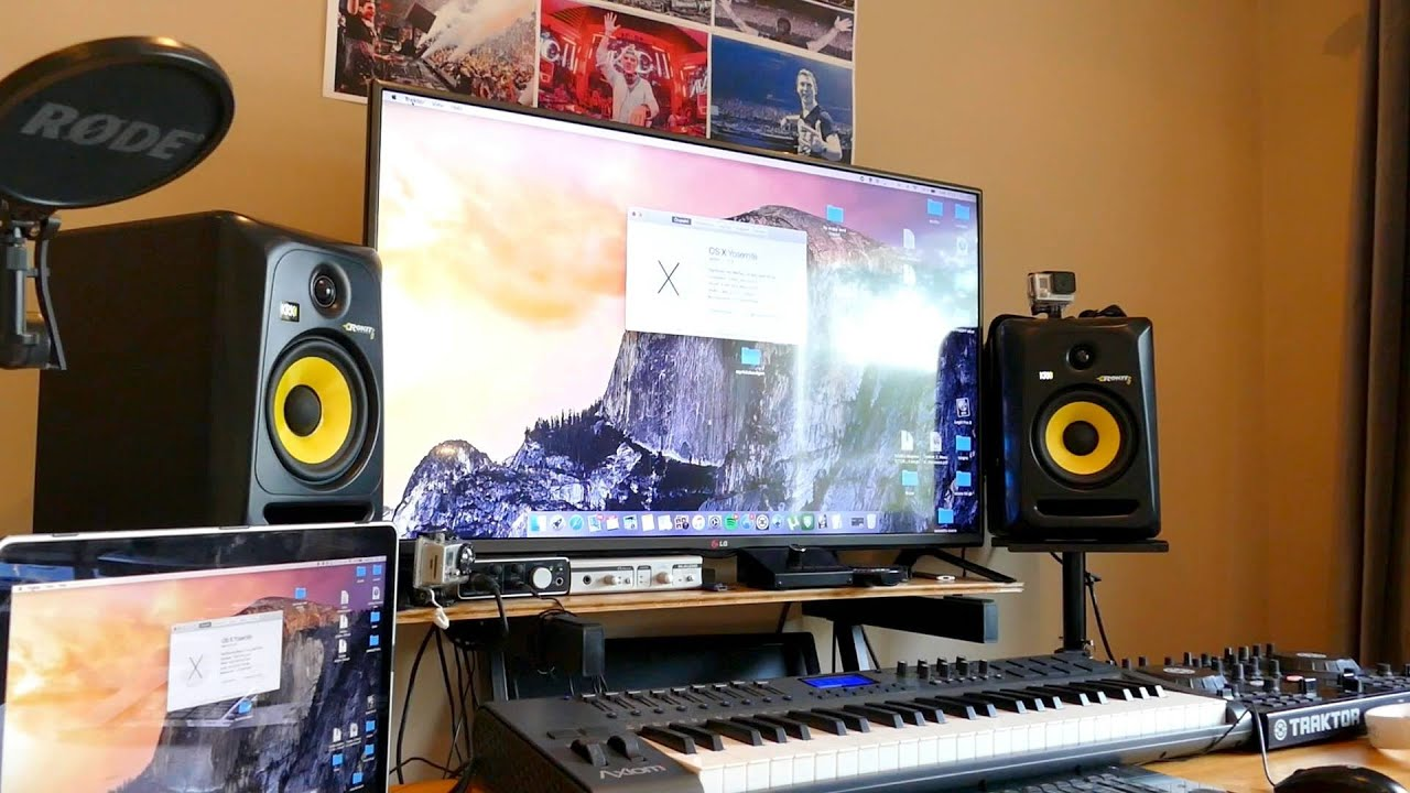 My Home Recording Studio 2015 (setup Tour)