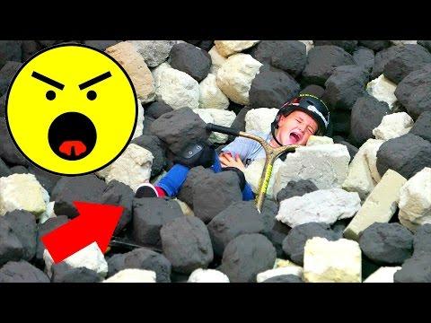 SCOOTER KID DIES IN FOAM PIT!!!