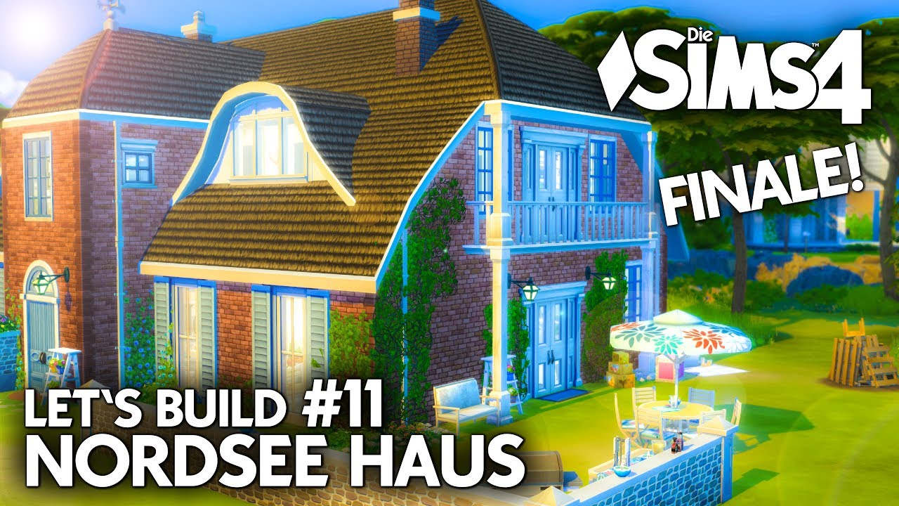 familienhaus bauen in die sims 4 nordsee haus 11 let 39 s. Black Bedroom Furniture Sets. Home Design Ideas