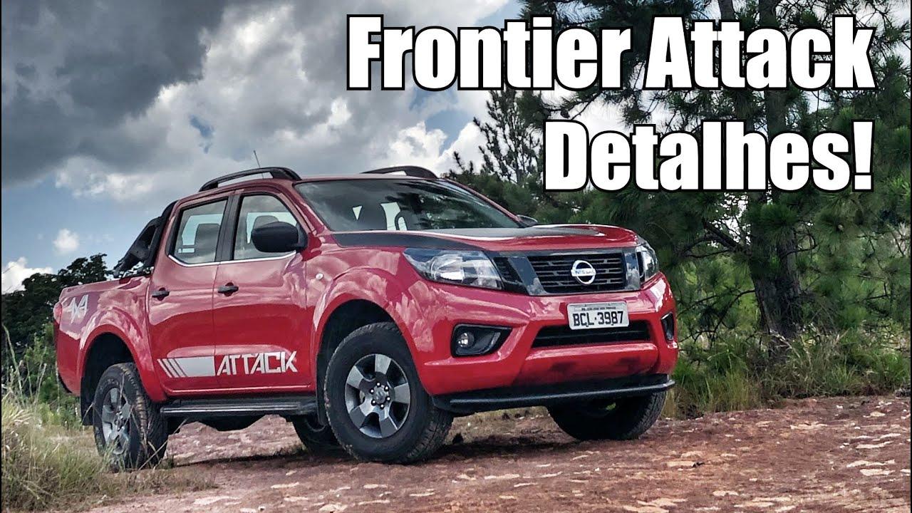 Nissan Frontier Attack 2019 em detalhes - Falando de Carro