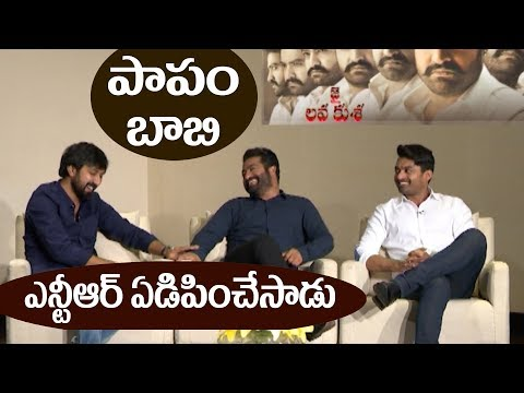 NTR and Kalyan Ram make fun of Jai Lava Kusa director Bobby || #JaiLavaKusa || #NTR