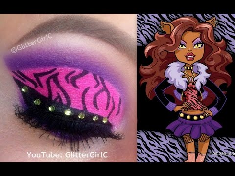 monster high clawdeen wolf makeup