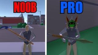 NOOB vs PRO en STRUCID | ROBLOX 1vs1