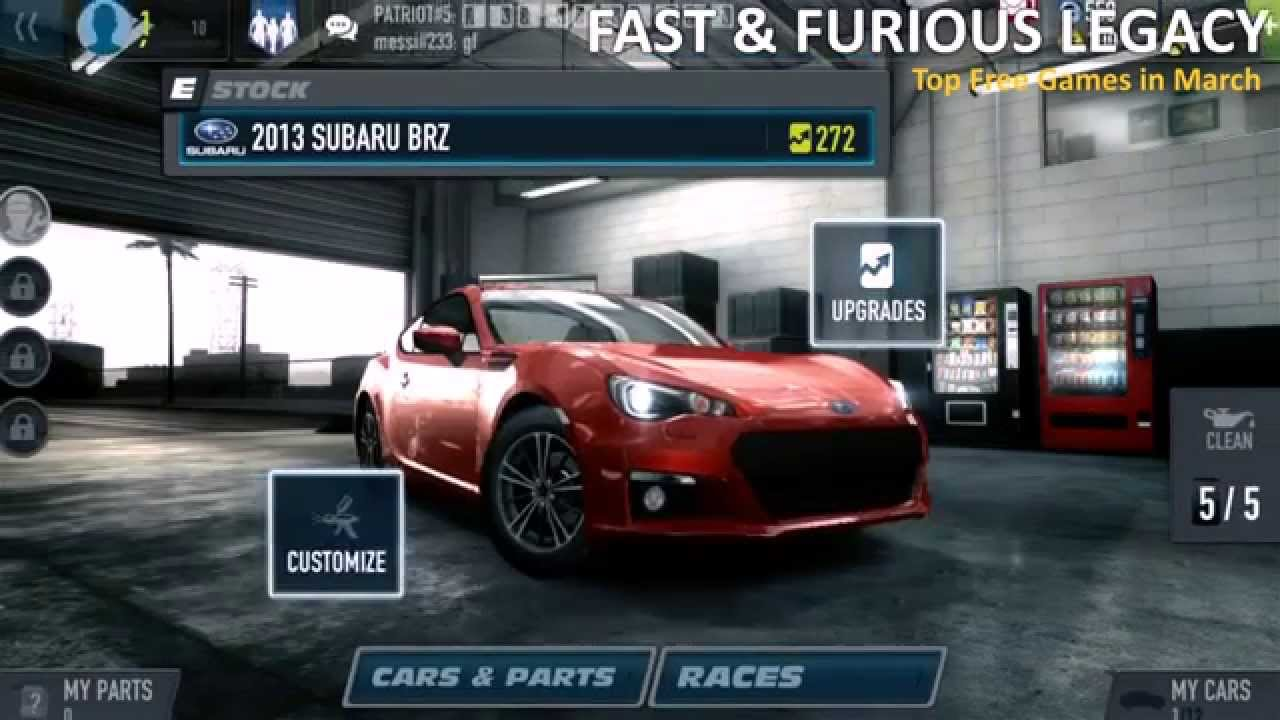 fast and furious legacy v3.0.2 mod apk
