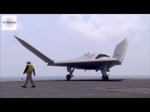 X-47B Drone & Manned F-18 Takeoff & Land Together In Historic Test