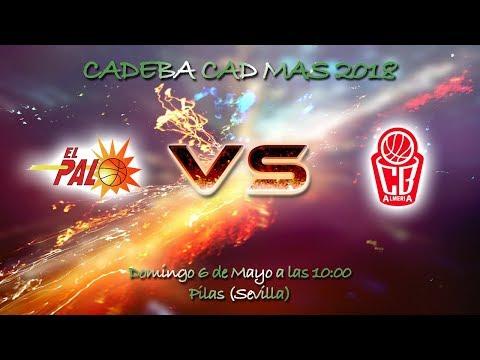 CADEBACADMAS 2018 - CB El Palo FYM HeidelbergCement - Cajamar CB Almeria