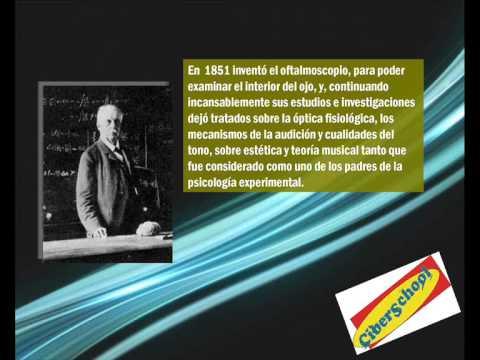 textos científicos  Herman Von Helmholtz